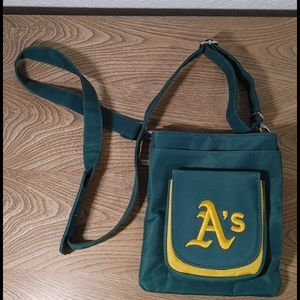 Oakland athletics A's crossbody purse